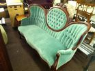 Victorian butterfly sofa
