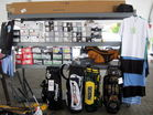 contents of Golf store