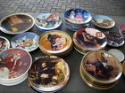 hundreds of collector plates