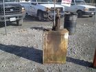 Lot# 131 - SHELL MOTOR OIL TANK AND PUMP