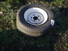Lot# 483 - (2) 145R 12 TRAILER TIRES & W
