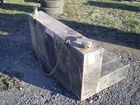 Lot# 681 - STEEL L SHAPED FUEL TANK FOR