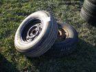 Lot# 720 - (2) TIRES, (1) CHEVY & (1) DO