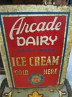 Arcade Ice Cream Sign