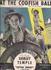 Vintage Sheet Music-Shirley Temple