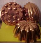 3 Copper Molds