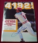 4192! Signed Pete Rose