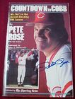 Countdown to Cobb Pete Rose Signed