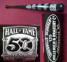 Hall of Fame 1939-1989 Bat w Case