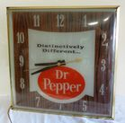 VINTAGE DR. PEPPER CLOCK