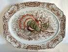 Johnson Bros. Wild Turkeys Platter 20""