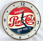 Pepsi Bubble Clock