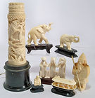 Carved Ivory & Other Carvings