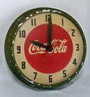 1940's Lackner Coca Cola Clock