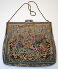 Marked Austria Petit Point Purse