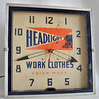 Headlight Work Clothes Clock