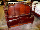 94 antique bed in auction several