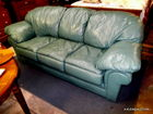 SEALY LEATHER COUCH