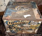 58 westons biscuit tin