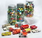 Marbles, Matchbox Cars