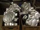 Cake pans- caricatures