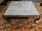 marble coffee table large
