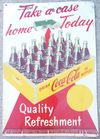 1950's Coca Cola tin sign
