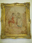 VICTORIAN FRAMED PETIT POINT