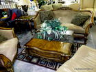 high end furniture in auction