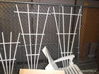 garden trellis and dog pen in auction