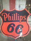 Porcelain Phillips 66 6ft. Sign
