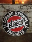 El Reco Gas Porcelain Sign