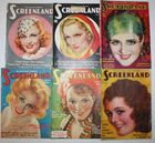 23 issues Screenland 1930 and 40s