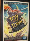 41x27 Top of the Town 1937 poster
