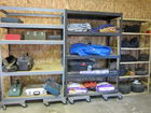 Tool Boxes, Shelving, Tarps, Ropes