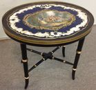 Porcelain inset table