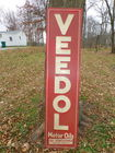Veedol Motor Oils sign 6ft x 17in