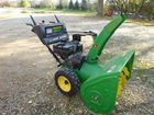 John Deere 828D Snowblower