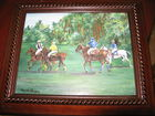 Polo Oil Painting