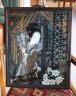Asian glass painting