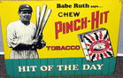 Babe Ruth Tobacco Sign
