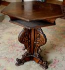 Carved occastional table