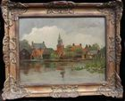 Dutch oil painting
