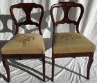 Pair of early chairs