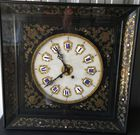 Boulle picture Fr. clock