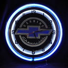Chevy neon clock