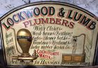 Decorative trade sign
