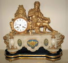Antique French Mantle Clock