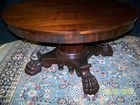 Oak carved Dining Table
