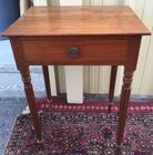 One draw antique stand